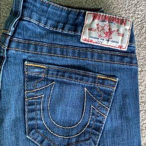 Women's True Religion Crop Jeans